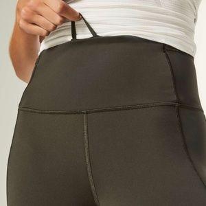 """lululemon athletica Pants - Lululemon Fast and Free 28"""" Tight Dark Olive NWT"""